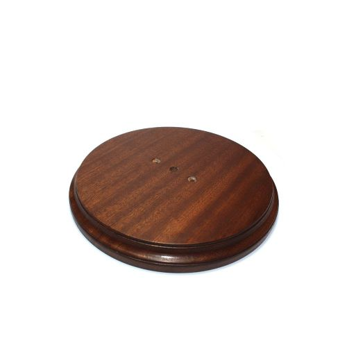 230mm Diameter Heavy Duty Sapele Pattress Waxed Finish